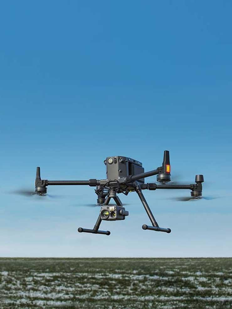 drone termal görüntüleme